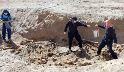 Over 70 mass graves unearthed in Iraq: Military