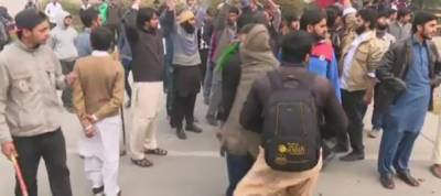 Over 70 students held, 37 suspended from PU after clash