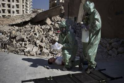 Syrian government denies charges of chemical weapons use