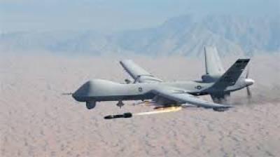 Who was the target of US drone strike