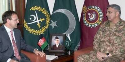 Amid deteriorating ties, Afghan Ambassador holds important meeting with COAS in GHQ