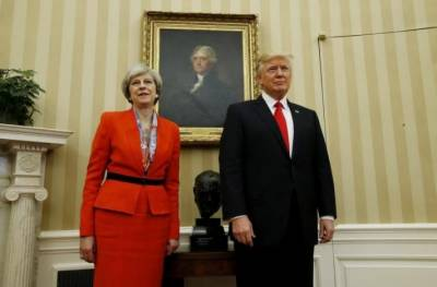 Donald Trump boasts of really great relationship with Theresa May