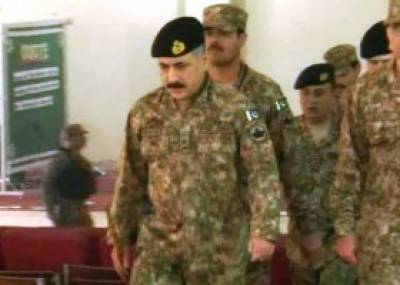 Foreign services attaches, advisers get briefing at Corps Headquarters Peshawar