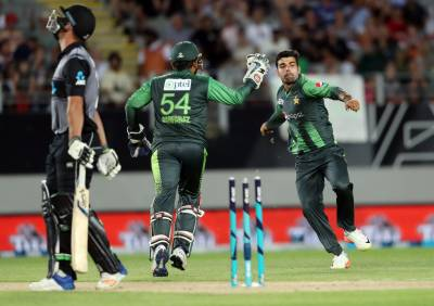 Pakistan beats New Zealand in second T20 match to score first win of the tour