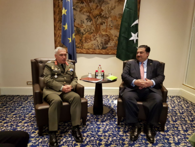 Pakistan, EU Military Chief vow to enhance bilateral ties