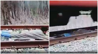 VIDEO: Kashmiri boy dangerous train stunt goes viral on social media