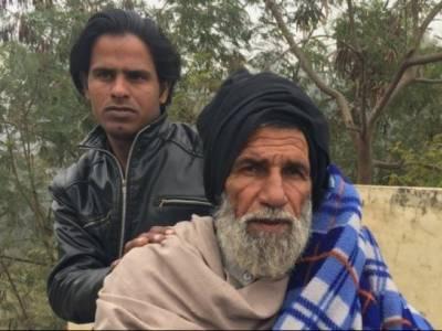 Indian police thrash 64 year old Muslim, call him Pakistani