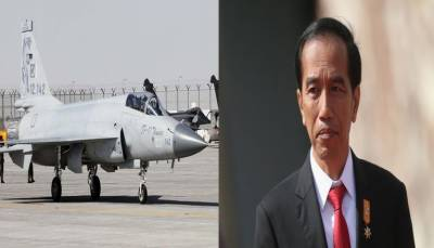 Indonesia may emerge as the potential buyer of Pakistan's JF 17 fighter jet