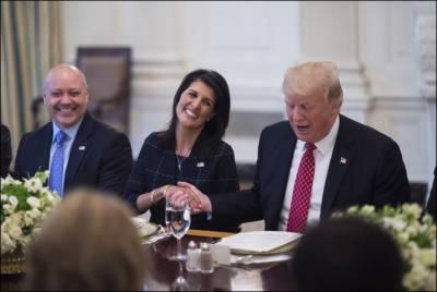Is Nikki Haley having romantic affair with Donald Trump