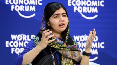 Malala Yusafzai hits out at Donald Trump in her Davos speech