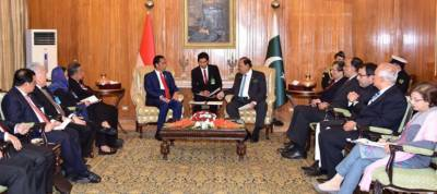 Pakistan Indonesia, the two largest Islamic states to boost defence ties