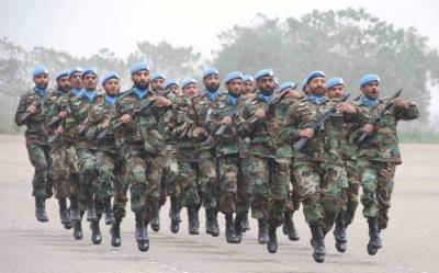 156 Pakistani soldiers including 23 officers sacrificed their lives in UN Peacekeeping operations across the globe