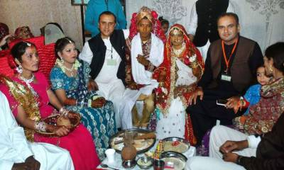 82 Hindu couples tie the knot in Karachi today