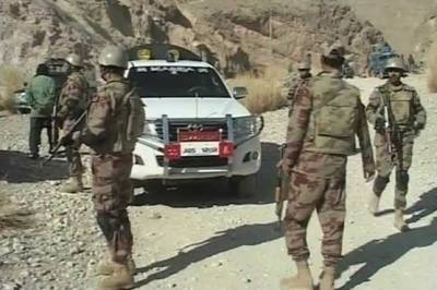 FC Balochistan recover huge cache of weapons in an intelligence operation