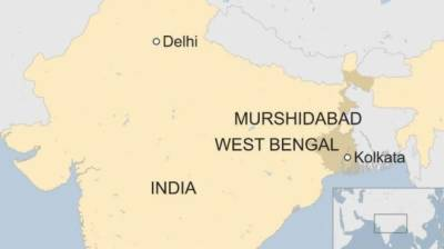 Bus crash triggers violent protests in Indian state of West Bengal