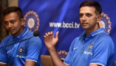 Rahul Dravid teaches Indian U19 side about Indo Pak rivalry ahead of semifinal