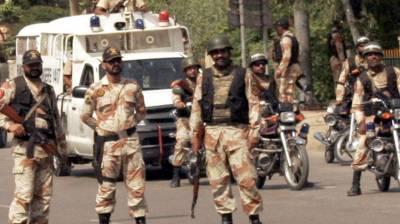 Sindh Rangers arrest 17 accused in Karachi