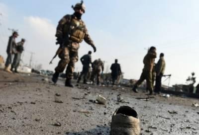 Suicide blast in Helmand Afghanistan