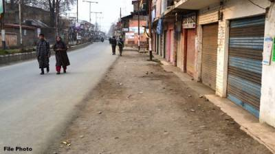 Complete shutdown in Occupied Kashmir against Indian Army brutalities