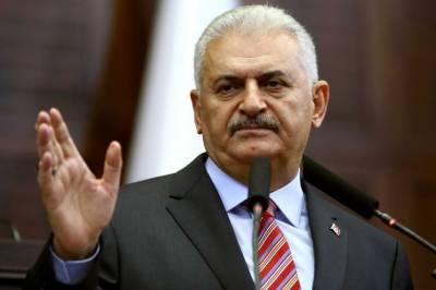 French president misunderstands Turkey's cross-border offensive: Turkish PM