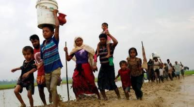Indian BSF pushing back Rohingya refugees at border