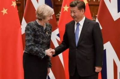 May pledges to deepen relationship with China in light of Brexit