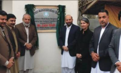 PDMA starts constructing Model Disaster Unit in district Buner