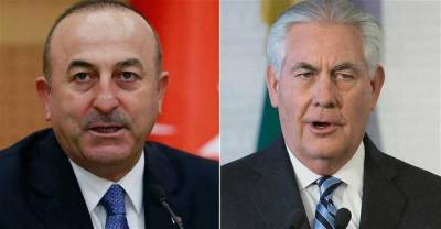 Turkish FM discusses Sochi Syria talks with U.S. Secretary of State