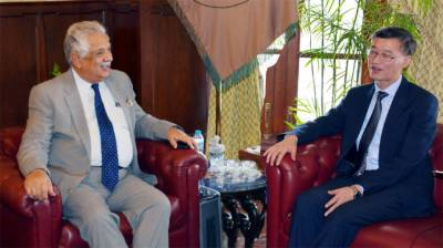 KP Governor, Chinese envoy discuss matters of mutual interest
