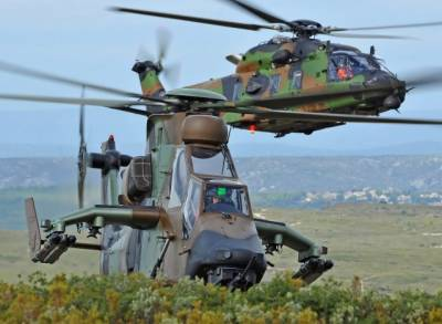 Two Military Helicopters crash