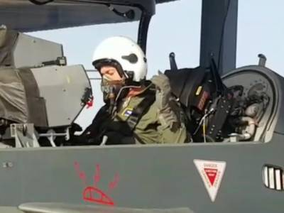 In a first, US Air Force Chief flies India's indigenous built Tejas LCA fighter jet