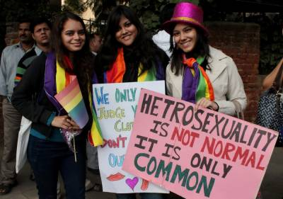 Lesbians, Gays Pride March in India in yet another low for Hindu society
