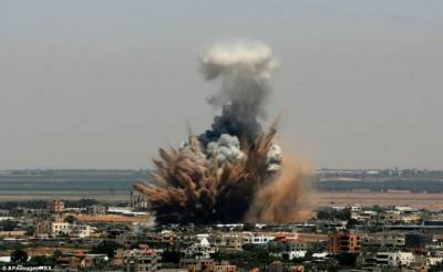 Israeli Air Force fires missiles in Gaza