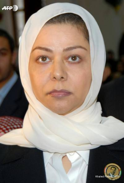 Saddam Hussain's daughter Raghad on Iraq's most wanted list