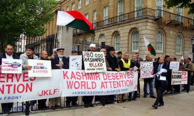 Big rally in New York's Times Square demands Kashmir's freedom from Indian yoke