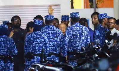 Chief Justice arrested by Army in Maldives