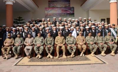 Corps Commander Peshawar visits Khyber Agency