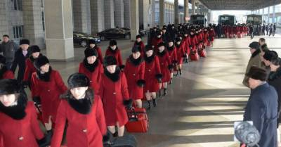 DPRK art troupe arrives in ROK ahead of PyeongChang Olympics