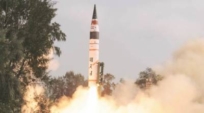 India test fires nuclear capable Ballistic missile
