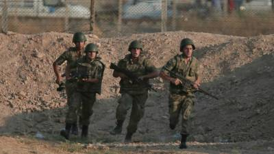 One Turkish soldier killed, five wounded in attack in northwest Syria: army