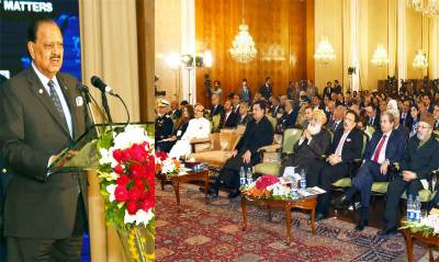 President urges world to help Kashmiris get right to self-determination