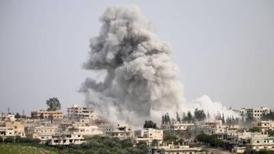 Syria strikes kill 23 civilians in rebel area near Damascus: monitor
