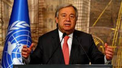 UN chief voices concern over situation in Gaza, calls for two-state solution