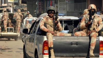 Rangers recover large cache of arms & ammunitions in Karachi