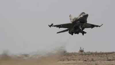 Israeli warplanes strike Syrian Military near Damascus
