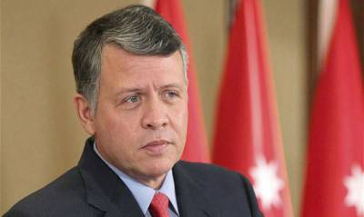 King Abdullah-II of Jordon arrives in Pakistan with senior Military officials