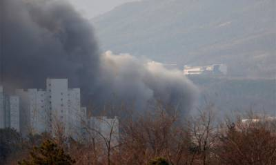 Olympics: Fire breaks out near Media Village