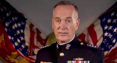 Planning under way for Trump's military parade: Dunford