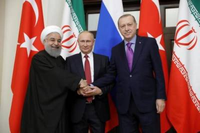Russia, Turkey & Iran presidents in regular contact to discuss conflict in Syria