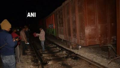 24 coaches of train derail in India